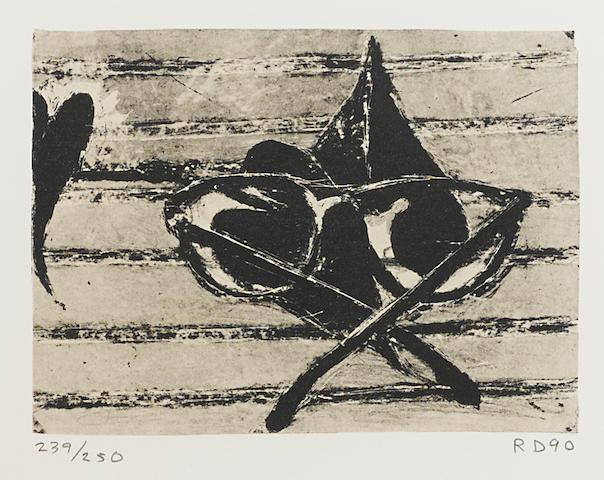Richard Diebenkorn (1922-1993); Untitled, from Harvey Gantt Portfolio;