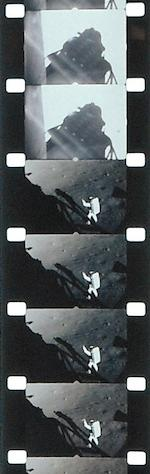 FLIGHT MOTION PICTURES TAKEN BY NEIL ARMSTRONG AND HIS CREW. INCLUDES ARMSTRONG'S FIRST STEP ONTO THE MOON.