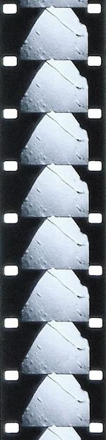 "APOLLO 15 MOTION PICTURES OF HADLEY RILLE DURING THE LUNAR LANDING AND LIFT-OFF.  INCLUDES DOCKING PHASES AND THE FIRST LAUNCH OF A ""SUB-SATELLITE"" WHILE IN LUNAR ORBIT."