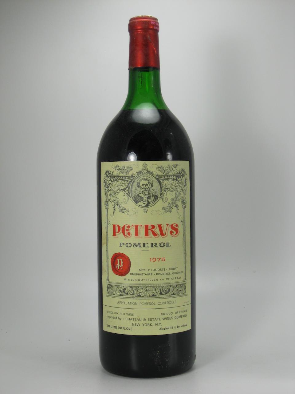 Château Pétrus 1975 (2 magnums)