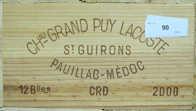 Château Grand-Puy-Lacoste 2000 (12)