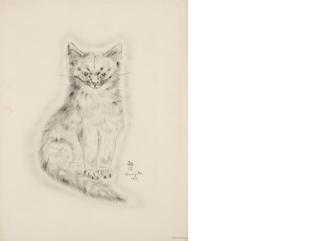 Léonard Tsuguharu Foujita (1886-1968); 6 Plates, from A Book of Cats;