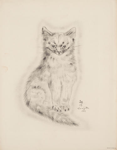 Léonard Tsuguharu Foujita (1886-1968); 6 Plates, from A Book of Cats;