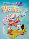 A cover painting for a Walt Disney's Big Big Coloring Book