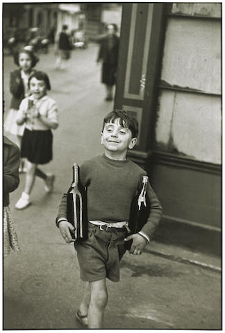 Henri Cartier-Bresson (1908-2004); Rue Mouffetard, Paris;