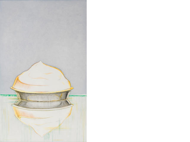 Wayne Thiebaud (born 1920); Meringue;