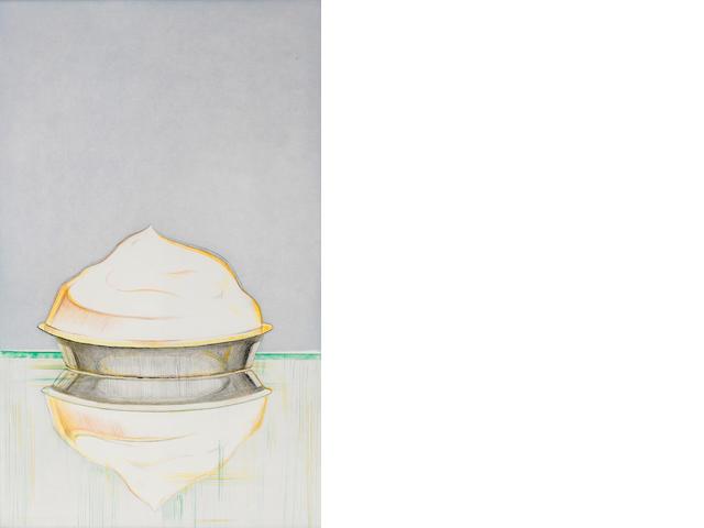 Wayne Thiebaud (born 1920); Meringue;