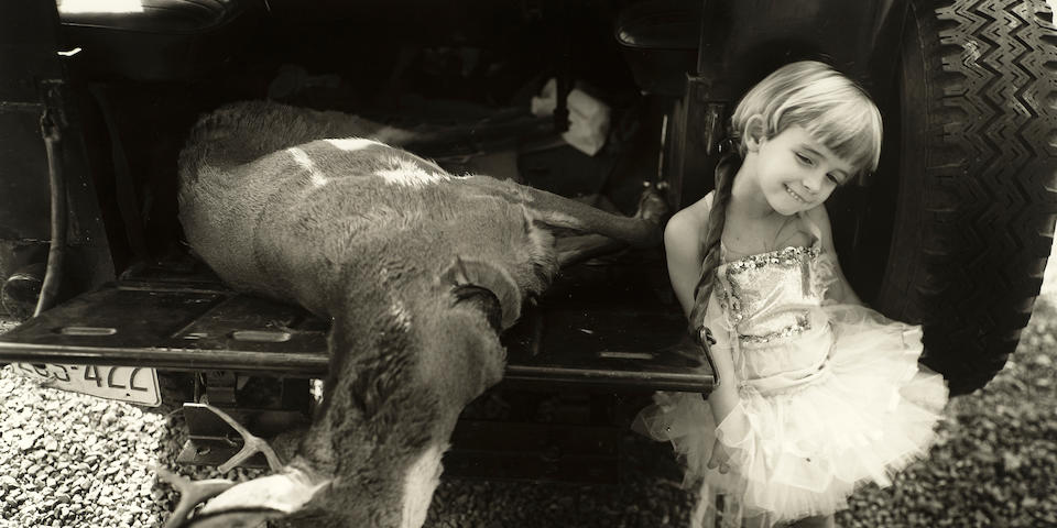 Sally Mann (born 1951); Jessie and the Deer;