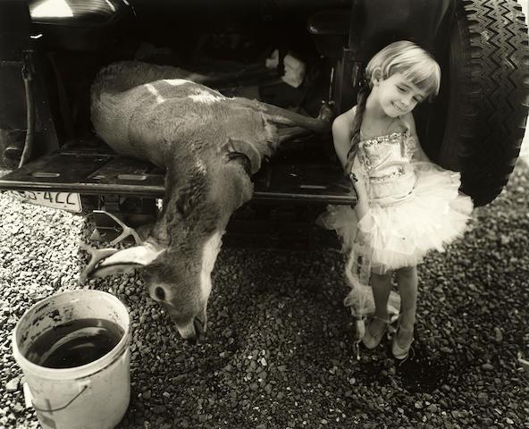 Sally Mann (born 1951); Jessie and the Deer;