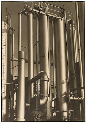Margaret Bourke-White (1904-1971); Commercial Solvents Company, Terre Haute, Indiana;