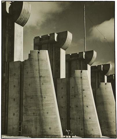 Margaret Bourke-White (1904-1971); Fort Peck Dam, Montana;