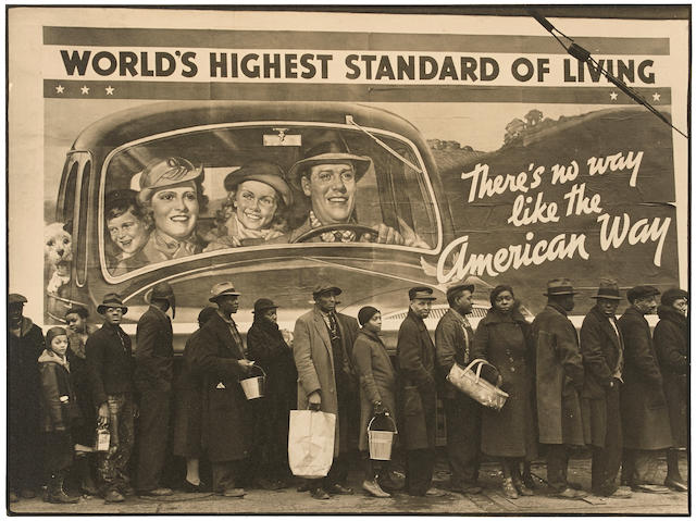 Margaret Bourke-White (1904-1971); At the Time of the Louisville Flood, Kentucky;