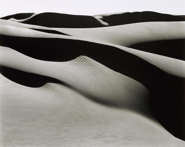 Edward Weston (1886-1958); Dunes, Oceano;