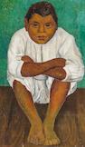 DIEGO RIVERA (1886-1957) El amigo de Frida 36 x 21 3/4in. (91.3 x 55.1cm)