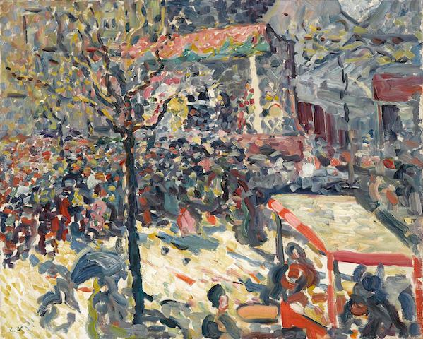 LOUIS  VALTAT (1869-1952) La fête 25 5/8 x 32in. (64 x 81cm)