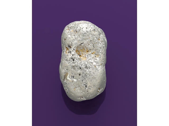 Very Large and Rare Platinum Nugget
