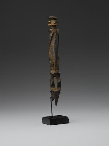 Wurkun Staff Figure, Benue River Valley, Northeastern Nigeria