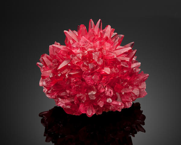 "Rhodochrosite--""The Porcupine"""