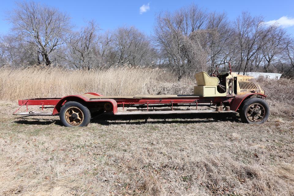 "1918 Mack AC ""Bull Dog"" 3 ½ Ton City Service Ladder Truck  Chassis no. 70061"