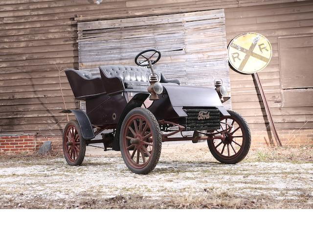 1904 Ford  Model 'AC' 10hp Four Seater Rear Entrance Tonneau  Engine no. 982