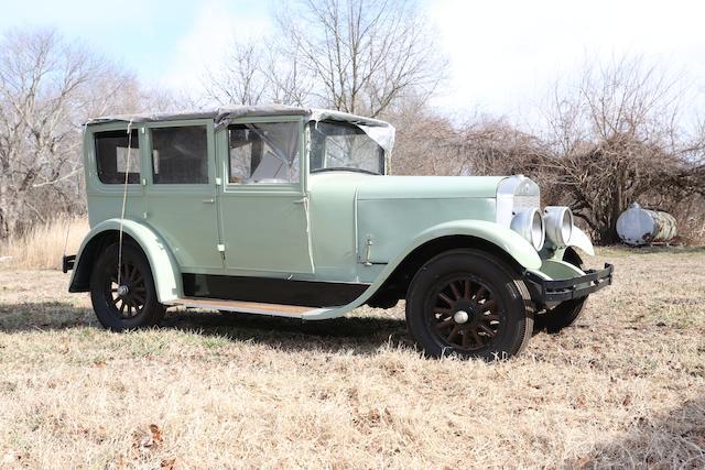 1928 Franklin 11B 5-Passenger Sedan  Chassis no. 168238-11 Engine no. E116340