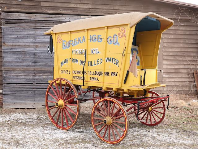An Ice Wagon,