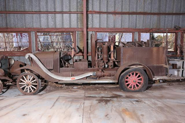 1923 Ford Model T Fire Pumper  Chassis no. 8502542