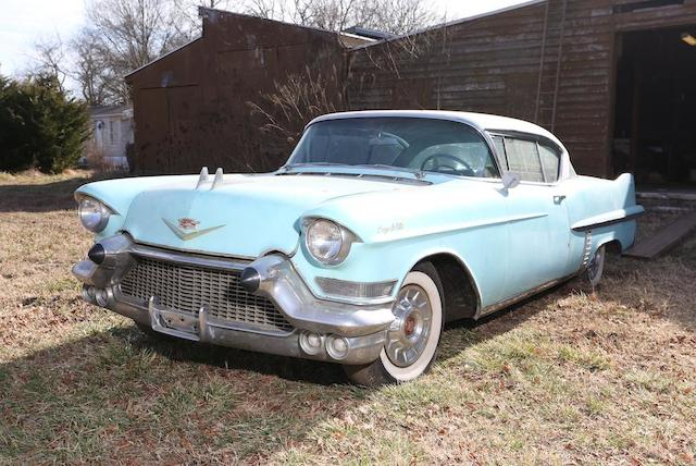 1957 Cadillac Series 62 Coupe DeVille  Chassis no. 5762137619