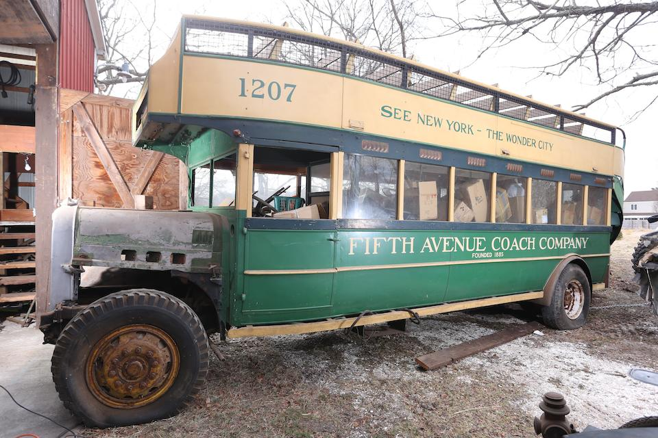 1926 Yellow Coach Open-Top Double-Decker Bus  Chassis no. TBA