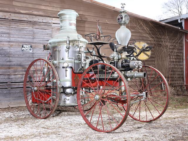 1873 Silsby Rotary Steam Pumper,