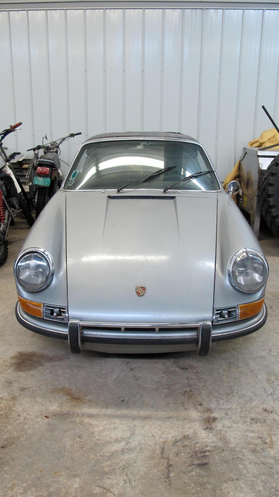 <b>1970 Porsche 911E Targa </b><br />Chassis no. 9110 21 0659 <br />Engine no. 620 1655
