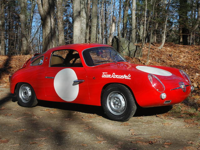 ex-Team Roosevelt, 1959 Sebring 12 Hours entry,1959 Fiat-Abarth 750 Record Monza Bialbero  Chassis no. 550486 Engine no. 600319