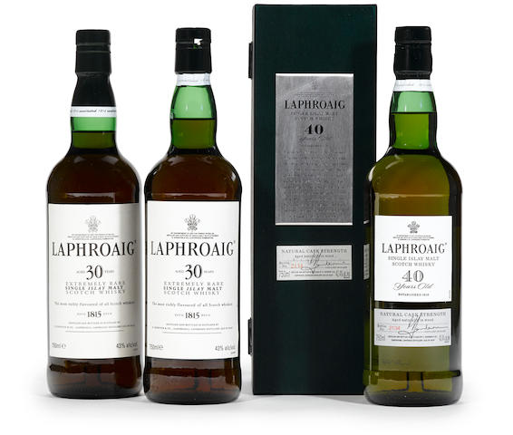 Laphroaig 40 years old (1)