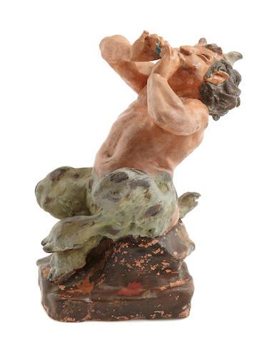 A maquette of a centaur