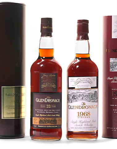 Glendronach 1968- 25 years old (1)