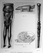 Massim Model of a Pig, Trobriand Islands,  Milne Bay Province, Papua New Guinea, together with  Silas, Ellis, A Primitive Arcadia:  Being the Impressions of an Artist in Papua, Boston, 1926