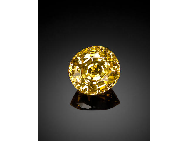 Very Fine Large Yellow Sapphire