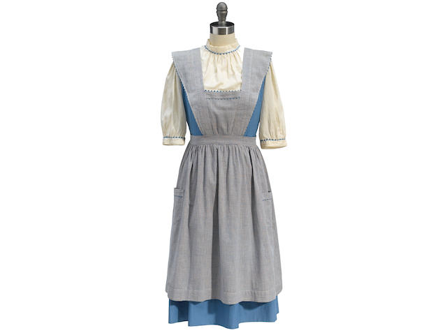 "A Dorothy ""test"" dress and pinafore from The Wizard of Oz"