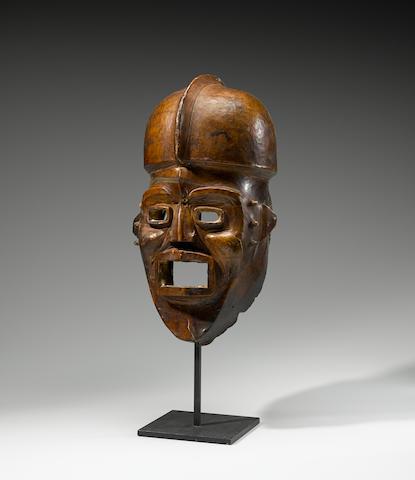 Ejagham/Ekoi Helmet Mask, Nigeria