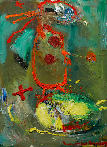 HANS HOFMANN (1880-1966) The Rabbitt, 1945