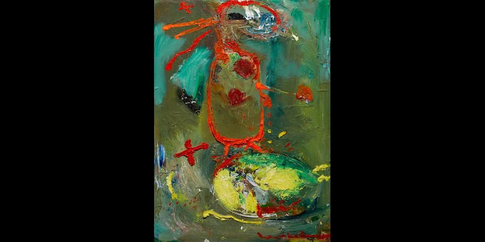 HANS HOFMANN (1880-1966) The Rabbitt, 1945