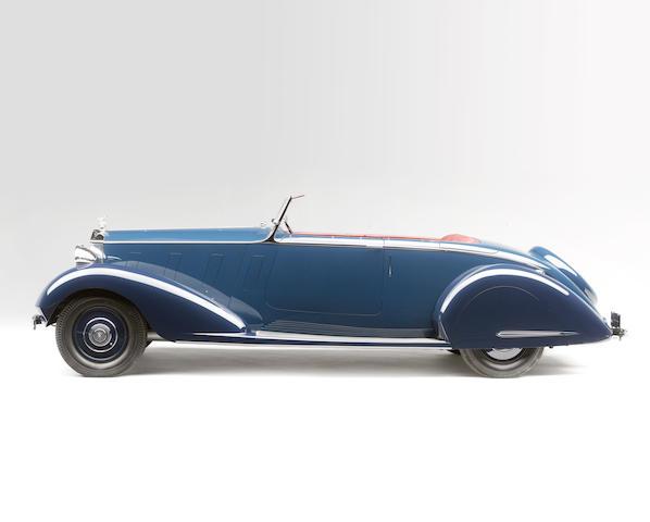 <i>The ex-Maharaja Nawab Muhammad Hamidullah Khan</i><br /><b>1936 ROLLS-ROYCE  PHANTOM III SPORTS FOUR-SEATER  </b><br />Chassis no. 3BU86 <br />Engine no. B38A