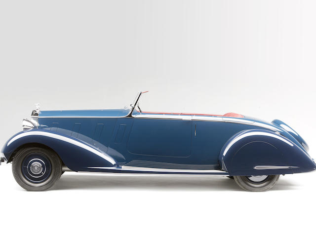 The ex- Maharaja Nawab Sir Muhammad Hamidullah Khan, one of two built and Pebble Beach Concours d'Elegance award winning,1937 Rolls-Royce Phantom III Sports Four-Seater  Chassis no. 3 BU 86