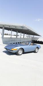 <i>The ex-Mansour Ojjeh - Ferrari Classiche Certified</i><br /><b>1973 FERRARI 365GTS/4 DAYTONA SPIDER  </b><br />Chassis no. 17057 <br />Engine no. B2944