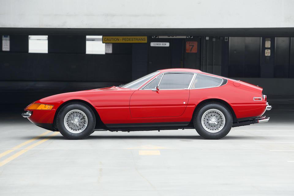 <b>1971 FERRARI 365GTB/4 DAYTONA BERLINETTA </b><br /> Chassis no. 14821 <br />Engine no. B1516
