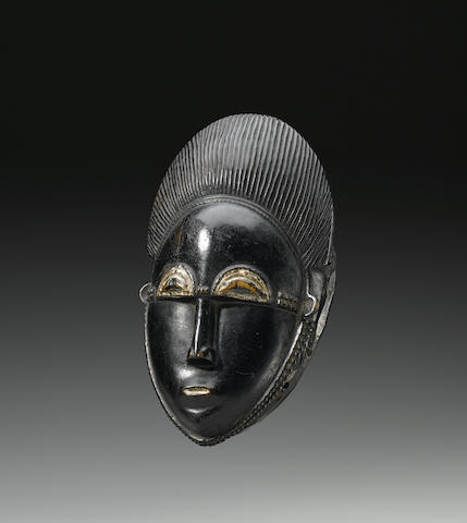 Baule Portrait Mask, Ivory Coast