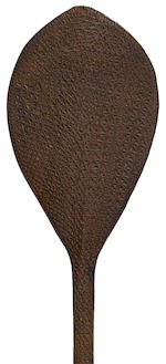 Rare Ceremonial Dance Paddle, possibly Ra'ivavae or Tupua'i, Austral Islands