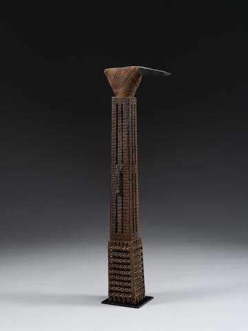 Large Ceremonial Hafted Adze, Cook Islands
