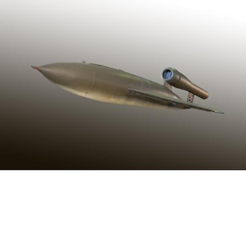 "A 1945 Republic Aircraft-Ford JB-2 Loon ""Buzz Bomb"","