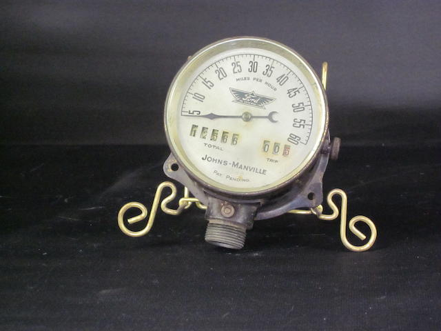 A Ford branded Johns Manville 60mph speedometer,